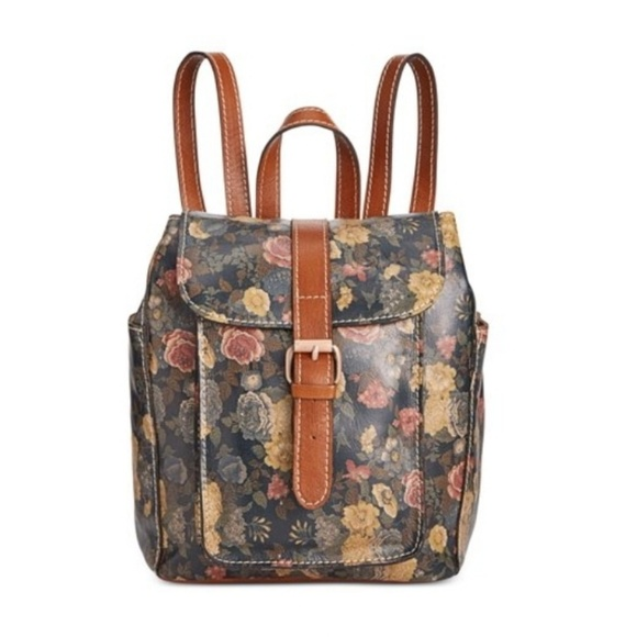 852739ec70278c Patricia Nash Bags | Aberdeen Leather Backpack | Poshmark